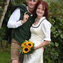 Weingarten als Hochzeitsfoto-Kulisse